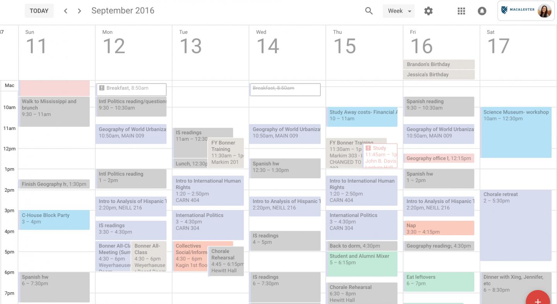 A Love Letter to Google Calendar